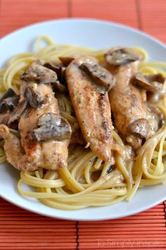 This simple yet fabulous Chicken Lazone is loaded with flavor The added mushrooms make it even that more scrumptious!