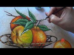 Poncã e Fruteira em Tecido (Aula 83) - YouTube                              …