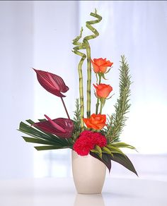 Contemporary arrangement