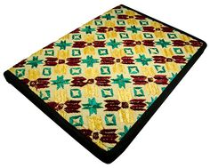 Colorful Embroidery File Fabric Folder Ethnic Office by Crafel, $66.00