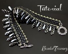 47th Parallel  beading pattern with Rulla beads por BeadedTreasury