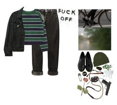 """F*ck off."" by onemorerainyday ❤ liked on Polyvore featuring McQ by Alexander McQueen, Patagonia, SFK, Maybe-Baby, Missoni, Smith & Wesson and American Apparel"
