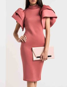 Looking for Hole Layered Sleeve Plain Slim Bodycon Dress? Fancywe offers lots of Bodycon Dresses in different styles, colors and materials. Dress your own style with Hole Layered Sleeve Plain Slim Bodycon Dress Bodycon Dress With Sleeves, Lace Sheath Dress, Sheath Dresses, Vintage Dresses, Nice Dresses, Cheap Dresses Online, Dress Stand, Scuba Dress, White Dresses For Women