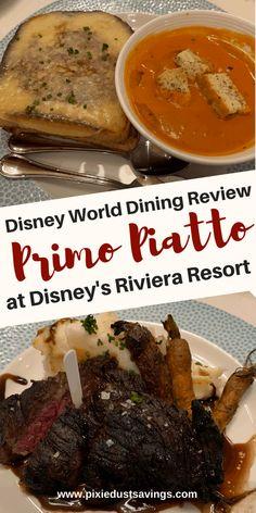 Authorized Disney Vacation Planner, Grilled Portobello, Hanger Steak, Disneyland Vacation, Breakfast Pizza, Disney Dining, Disney Food, Caramelized Onions, Great Recipes