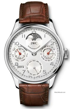 IWC - Portuguese Perpetual Calendar Edition Boutique. Limited to 500 watches, available worldwide at IWC boutiques.