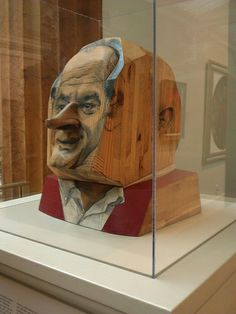 a portrait of Bob Hope at the National Portrait Gallery, marisol escobar