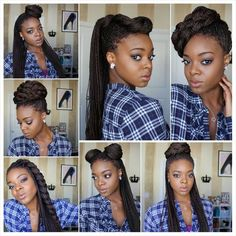Styling Box Braids 7 Ways [Video] - http://community.blackhairinformation.com/video-gallery/braids-and-twists-videos/styling-box-braids-7-ways-video/: