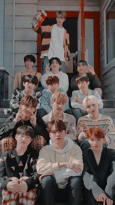 Seventeen Wallpaper Kpop, Kpop Wallpaper, Seventeen Album, Carat Seventeen, Seventeen Memes, Seventeen Wallpapers, Woozi, Jeonghan, Pledis Seventeen