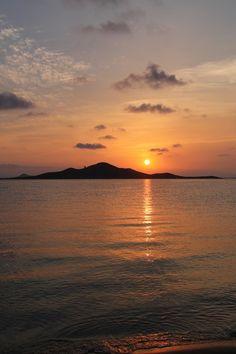 Atardecer en la Isla del Barón #MarMenor #Playas #Murcia