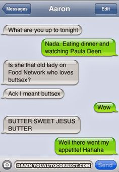 funny texts, food network, funni text