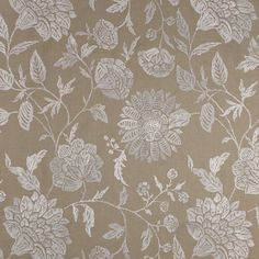 Manuel Canovas' Miramas #manuelcanovas #treeoflife #floral #textile #fabric