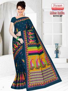 Miss India, Blue Dresses, Saree, Beauty, Sari, Surrey, Saris, Sari Dress, Half Saree