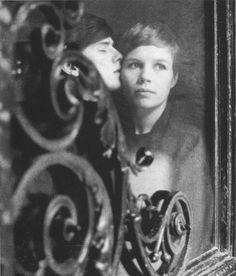 Astrid Kirchherr and Stuart Sutcliffe.