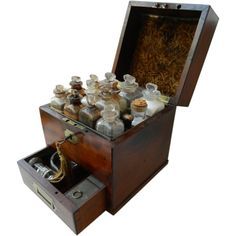 Apothecary Box from Antiques of River Oaks on Ruby Lane $3,795 - Questions Call: 713-961-3333