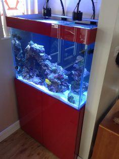Modern Design Fish Tank Cabinets Manufactured In Matte