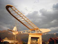 Medicine ManGlider #HowTo #plans #glider #RC #process #balsa