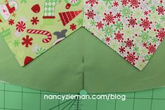 How to Sew a Christmas Tree Skirt with Nancy Zieman | Nancy Zieman Blog