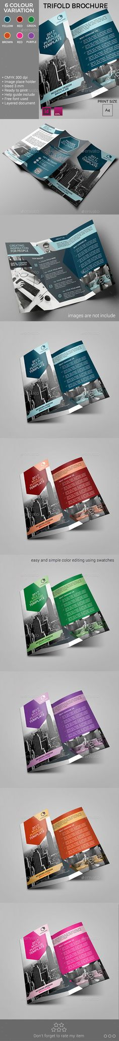 Trifold Brochure Template InDesign INDD