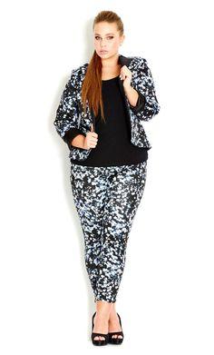 City Chic - CHINA DOLL PANT - Women's plus size fashion #citychic #citychiconline #newarrival #plussize