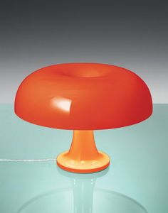 Classic space age styling - this re-edition of the classic Nessino table lamp from Holloways of Ludlow will bring a bang of joyful colour and bold vintage style as it hovers over your desk. Too chic to be a novelty. Desk Light, Light Table, Best Desk Lamp, E14 Led, Technical Drawing, Vintage Fashion, Vintage Style, Table Lamp, Bulb