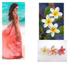 """""""Plumeria"""" by snazzydiva2002 on Polyvore featuring art"""
