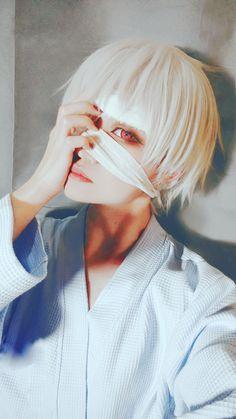 Kaneki ken 東京喰種:re - Takuwest(沢西) Ken Kaneki Cosplay Photo - Cure WorldCosplay