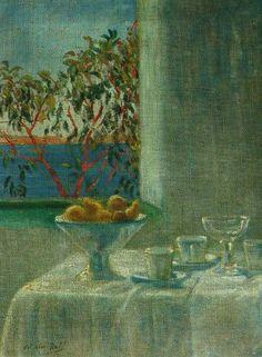 Salvador Dali - Still Life by a Window 1920