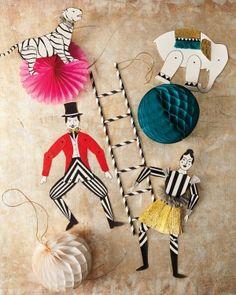 Circus Crafts: Acrobats and Animals