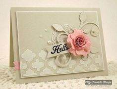 Hello {SSSC205} by strappystamper - Cards and Paper Crafts at Splitcoaststampers