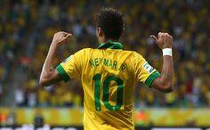 Neymar - Brasil vence 4-0 a Italia - Copa Confederaciones 2013