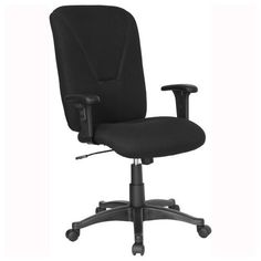 Heavy duty office chair - Pin it :-) Follow us :-)) AzOfficechairs.com is your Office chair Gallery ;) CLICK IMAGE TWICE for Pricing and Info :) SEE A LARGER SELECTION of  heavy duty  office chair at http://azofficechairs.com/?s=heavy+duty+office+chair -  office, office chair, home office chair - Black Fabric Mid Back Task Chair and Computer Chair [BT-084-BK-GG] « AZofficechairs.com