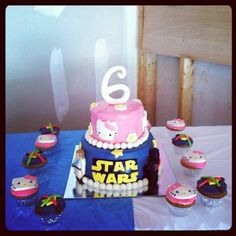 When you have twins boy and girl this is how a bday cake looks like   # Pinterest++ for iPad #
