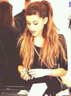 Ariana Grande hair *.*