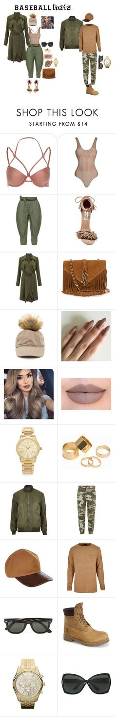 """He Match My fly"" by slayedbyk on Polyvore featuring River Island, Isolde Roth, Steve Madden, Adrianna Papell, Yves Saint Laurent, Jeffree Star, Michael Kors, Pieces, True Religion and Balmain"