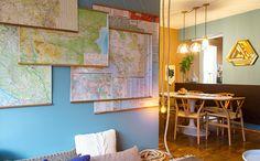 Sala inspirada em viagens tem decoração rústica e referências de outros países - Decora - Programas - GNT