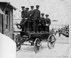 Lithgow Fire Brigade 1930's Local History, Family History, New South, Fire Engine, Blue Mountain, New Things To Learn, Firefighters, 19th Century, Engineering