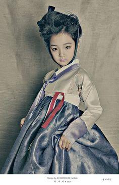 2015 복나비: 동화 컨셉의 몽환적인 아동 한복 화보