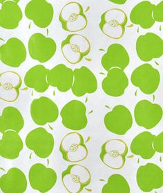 Green Solvang Oilcloth (lots of other good oilcloth and fabric too)