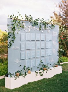 57 Best Escort Cards and Seating Displays 🌟wedding escort card displays💡🌟wedding seating chart Seating Chart Wedding, Seating Charts, Wedding Centerpieces, Wedding Decorations, Wedding Themes, Centerpiece Ideas, Wedding Table Planner, Wedding Planners, Catering