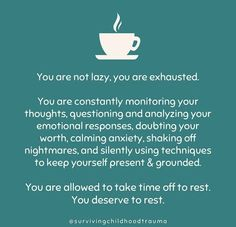 Self Love Quotes, Quotes To Live By, Life Quotes, Mental And Emotional Health, Emotional Healing, How To Calm Anxiety, Pretty Words, Self Improvement, Self Help