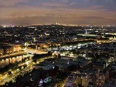 another picture of Paris at night