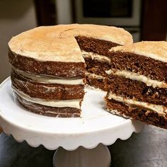 Best Carrot Cake Ever Recipe   Allrecipes Frosting Recipes, Cake Recipes, Dessert Recipes, Sweet Recipes, Baking Recipes, Round Cake Pans, Round Cakes, Tea Cakes, Cupcake Cakes
