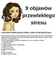 9 objawów przewlekłego stresu - Nr 9 pewnie nikogo NIE ZASKOCZY!!! Medicine, Lol, Health, Crafts, Manualidades, Health Care, Handmade Crafts, Medical, Craft