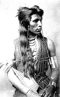 File:Rabbit-Tail, Shoshone member of Captain Ray's scout company, half-length, seated, with bracelets and ornamented vest - NARA - Native American Photos, Native American Tribes, Native American History, American Indians, Sioux, Les Scouts, Native Indian, Indian Tribes, Native Art