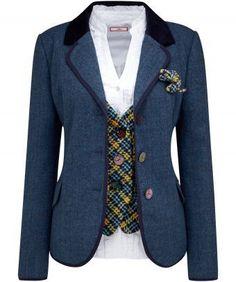 Joe Browns blue jacket £70.00 sizes 8-18
