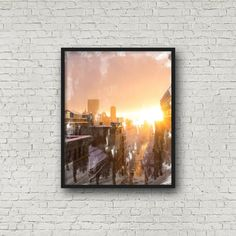 Boston, Massachusetts, architecture, modern print, abstract print, instant download, skyline, sunset, sunrise, city scape, buidlings