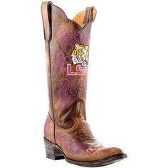 LSU Tigers Ladies Gameday Cowboy Boots