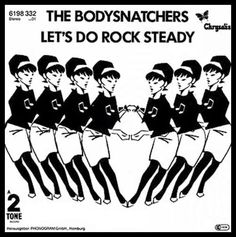 The Bodysnatchers (this cover makes no sense. The Beat girl has nothing to do with The Bodysnatchers).