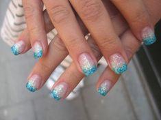 sommar naglar härliga och vackra