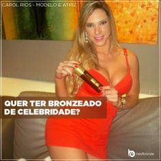 Faça como a lindona Carol Rios! Compre o seu #bestbronze e entenda porque as estrelas gostam tanto de ficar bronzeadas com ele: www.bestbronze.com.br